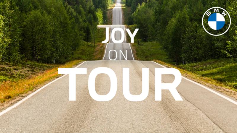 BMW joy on tour